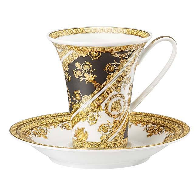 Versace I Love Baroque Coffee Cup & Saucer 19325-403651-14740