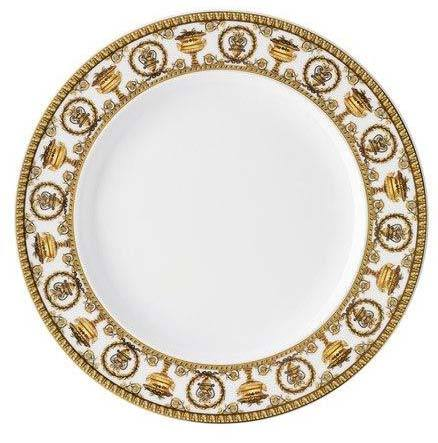 Versace I Love Baroque Bianco Dinner Plate 19325-403652-10227