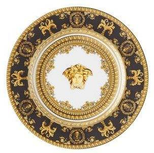 Versace I Love Baroque Nero Bread & Butter Plate 19325-403653-10218