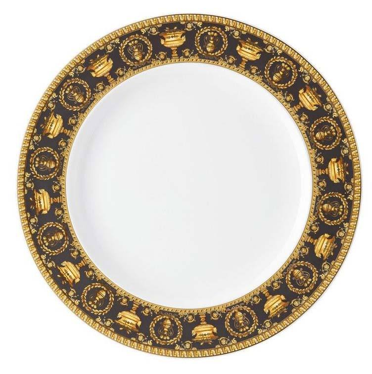 Versace I Love Baroque Nero Dinner Plate 19325-403653-10227