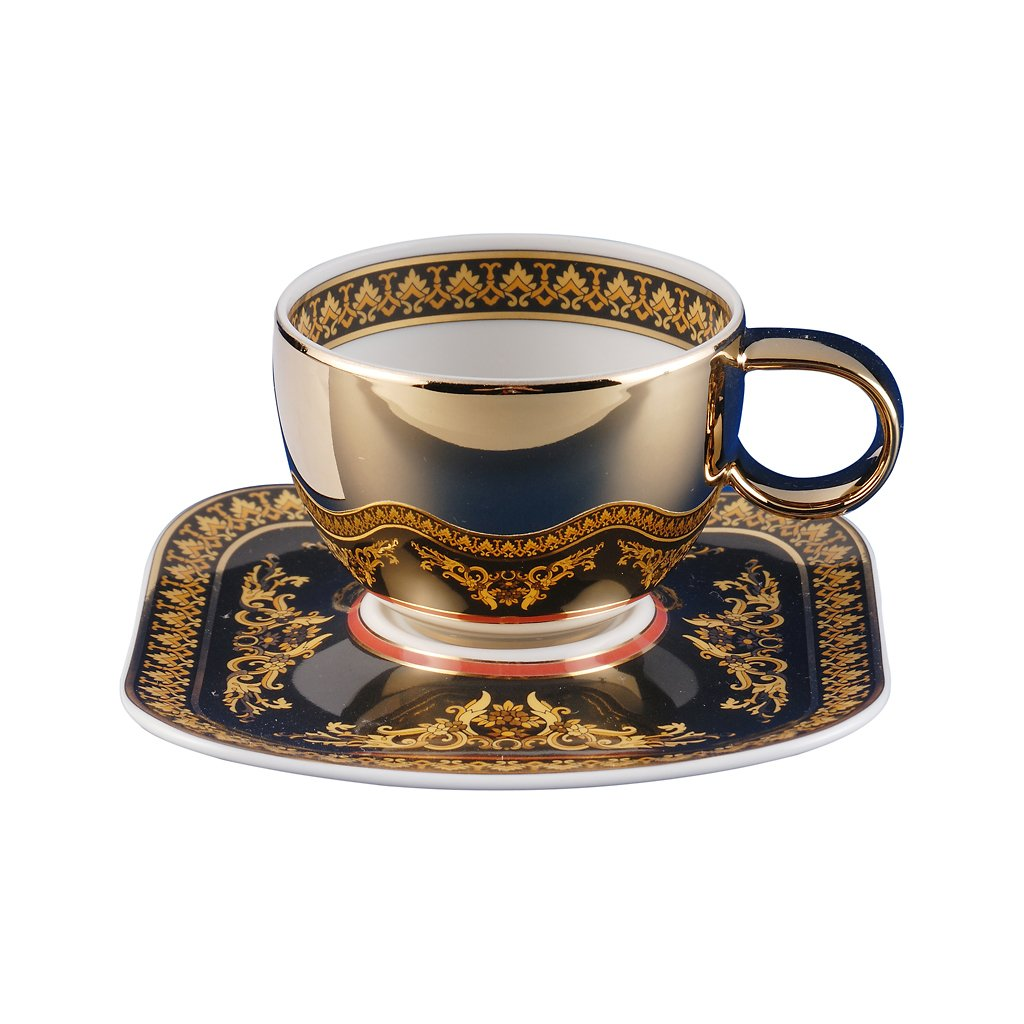 Versace Medusa Red AD Cup & Saucer 19750-409605-14715