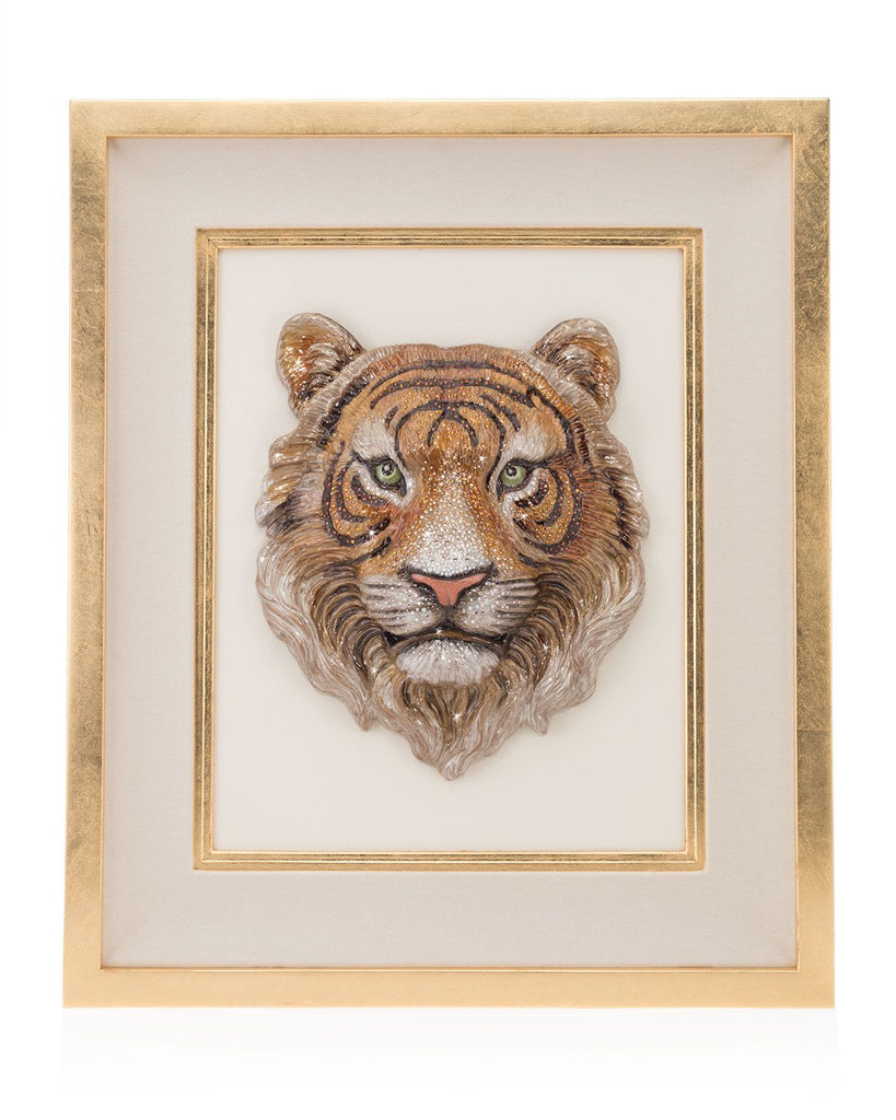 Jay Strongwater Sampson Tiger Wall Art SHW3325-274