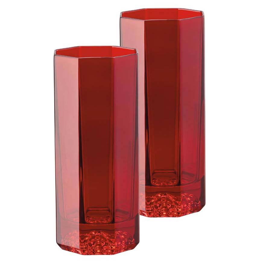 Versace Medusa Lumiere Red Longdrink Set Of Two 20665-321507-48874