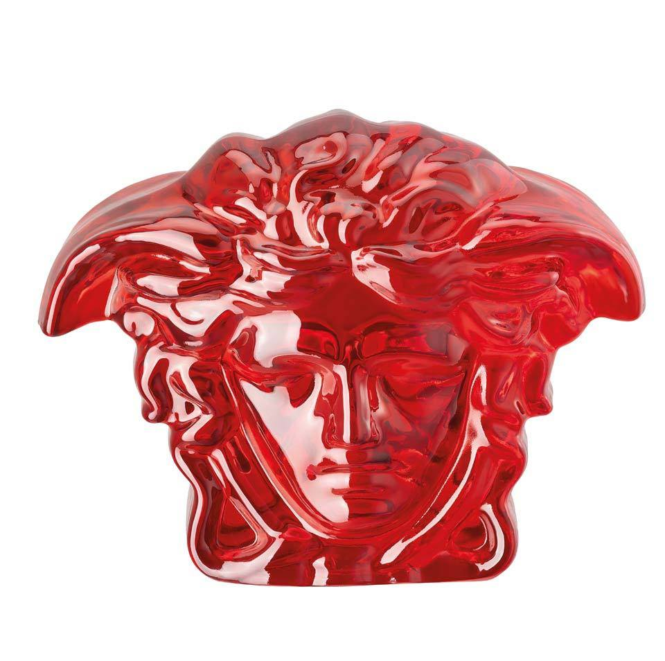 Versace Medusa Lumiere Red Paperweight 20665-321507-49116