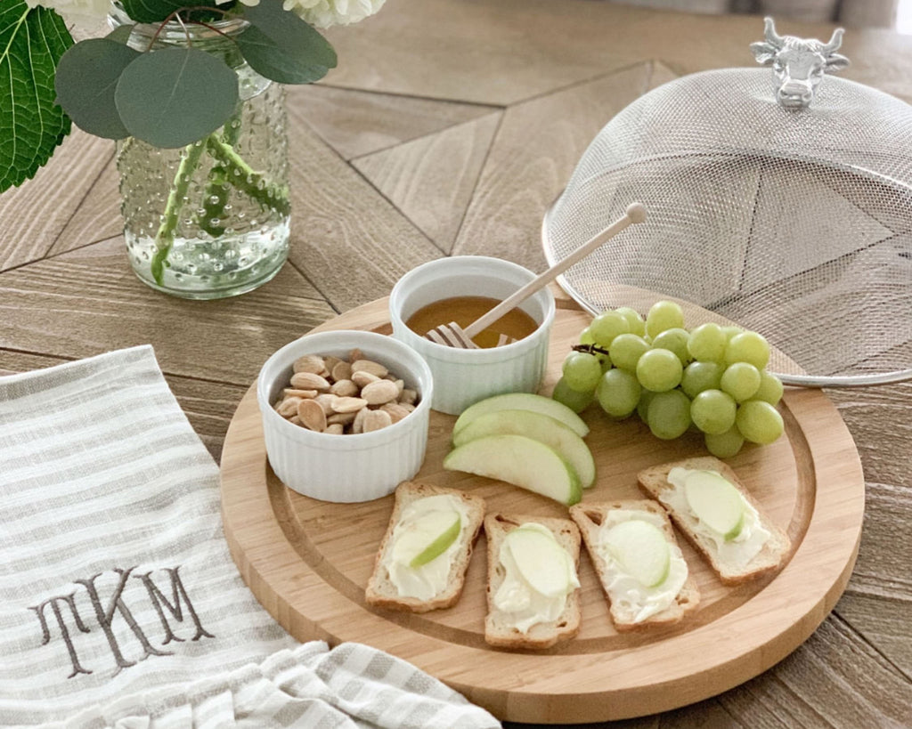 Arthur Court Cow Head 3 Piece Picnic Cheese Board / Spreader 219W12