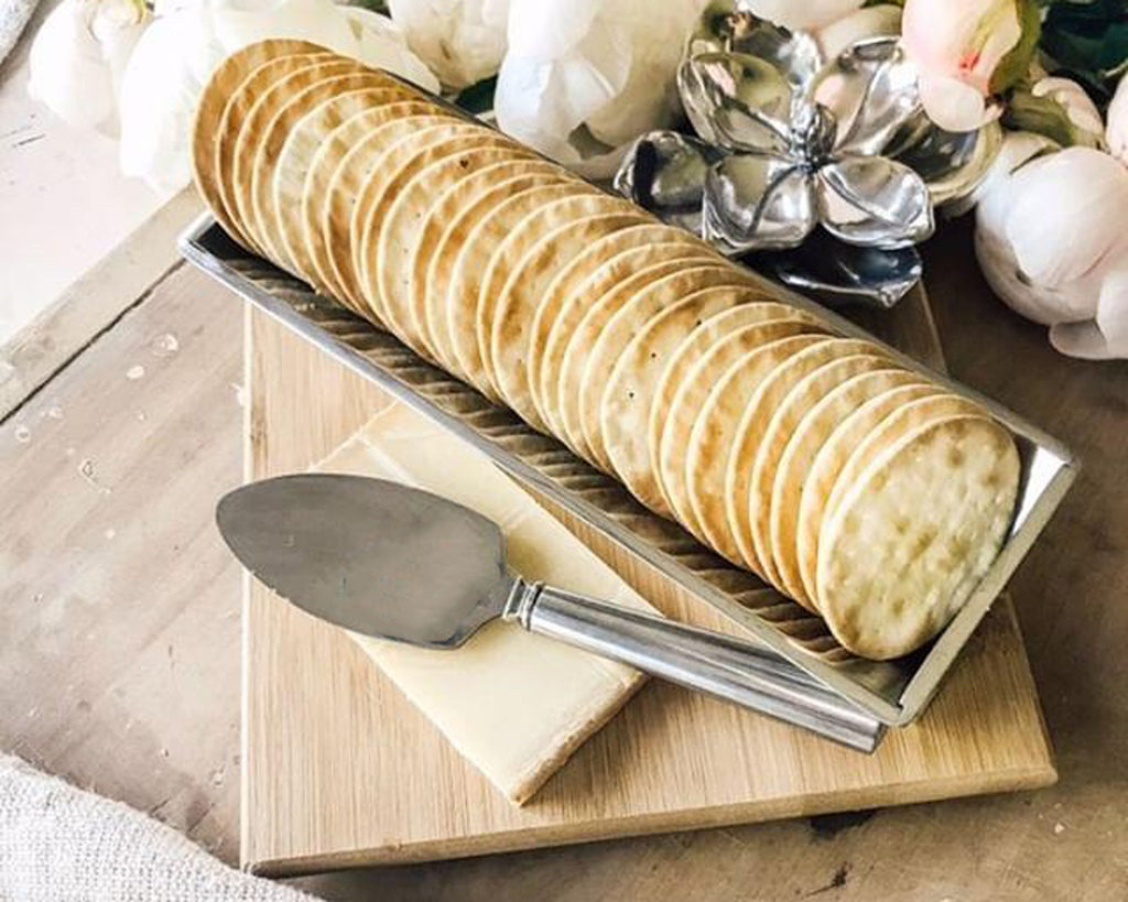 Arthur Court Magnolia Bamboo Cheese Set 219M31