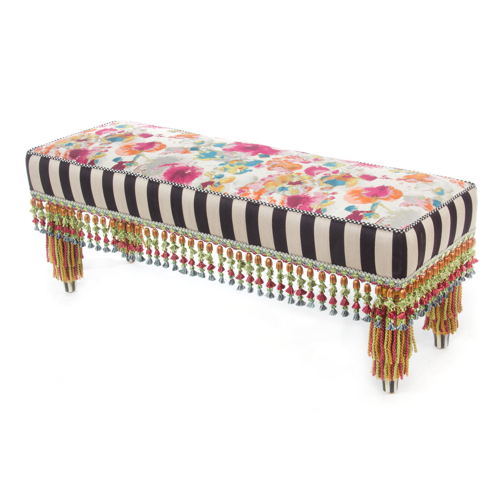 MacKenzie-Childs Technicolor Bench 225-15212