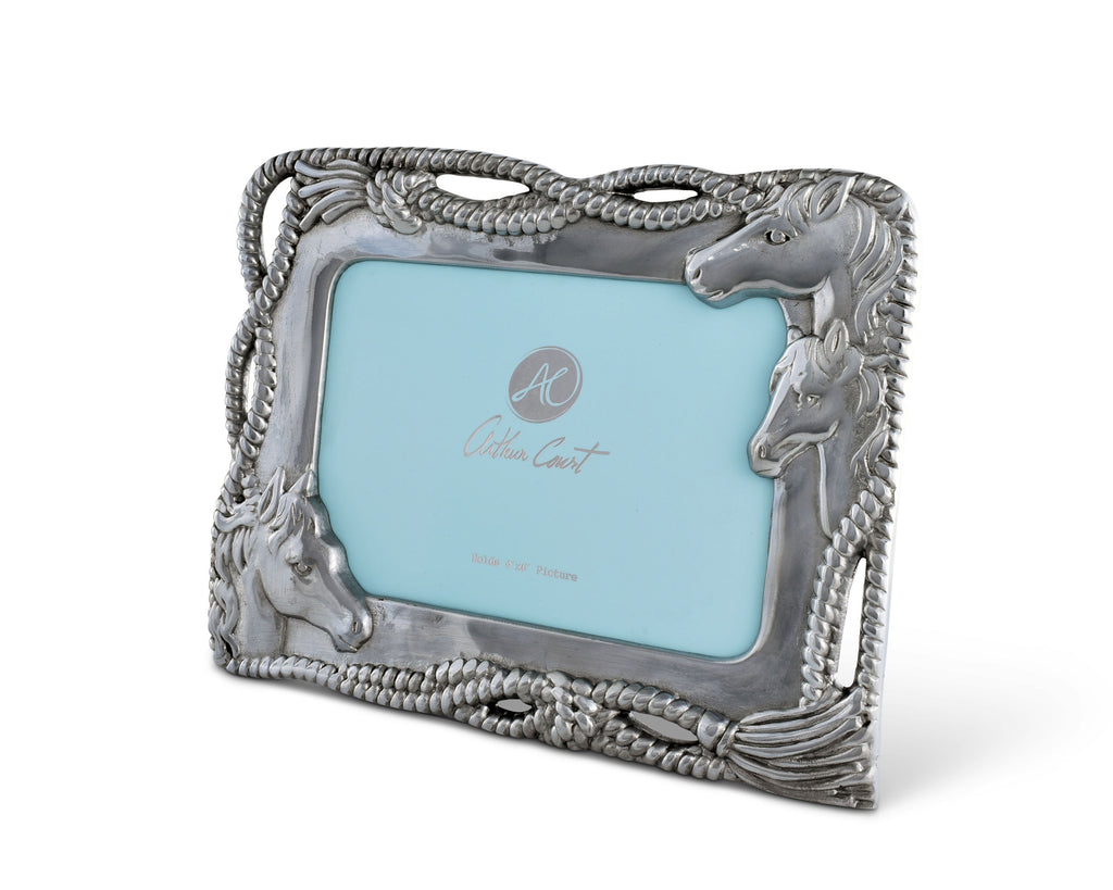 Arthur Court Horse Photo Frame 4x6 300406