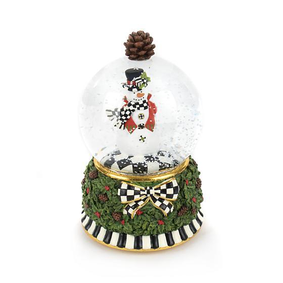 Mackenzie Childs Snowman Snow Globe 31600-1203