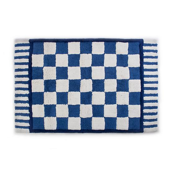 Mackenzie Childs Royal Check Bath Rug Large 347-24041