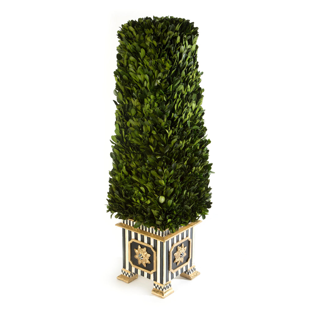 MacKenzie Childs Boxwood Obelisk Medium 34753-3102