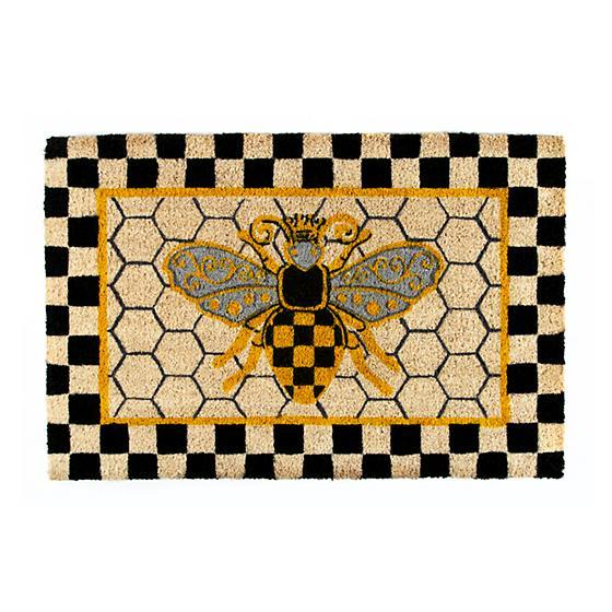 Mackenzie Childs Queen Bee Entrance Mat 349-03613