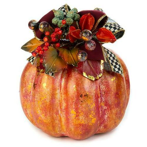 Mackenzie Childs Spice Pumpkin Small 35509-0071