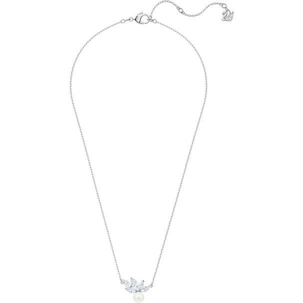 Louison Pearl Pendant White Rhodium Plating 5422685