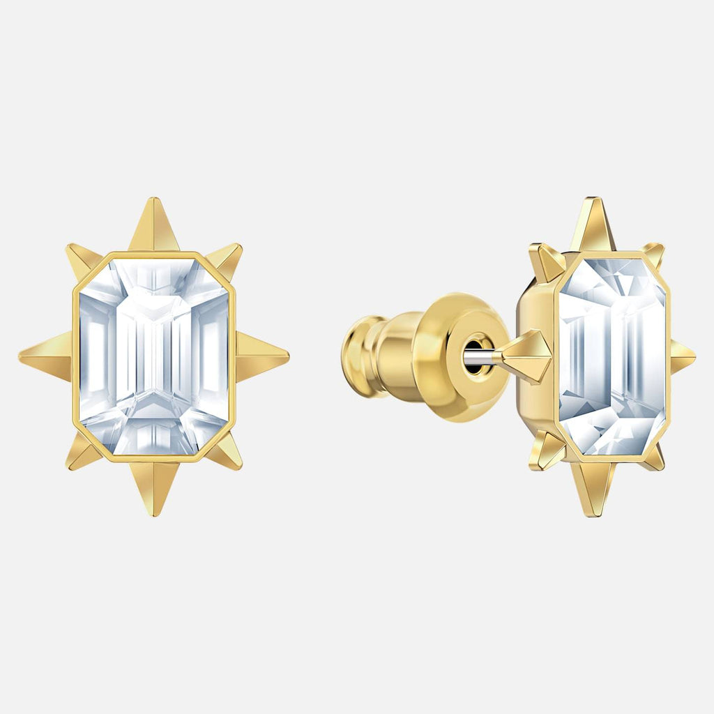 Swarovski Jewelry Swarovski Jewelry Tarot Magic Stud Pierced Earrings White Gold Tone Plated 5494019