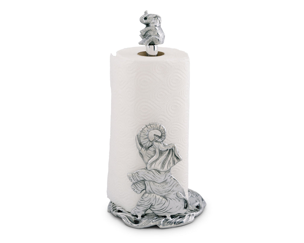 Arthur Court Elephant Paper Towel Holder 550176