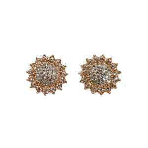 Swarovski Crystal Sun Flower Stud Earrings 5502756