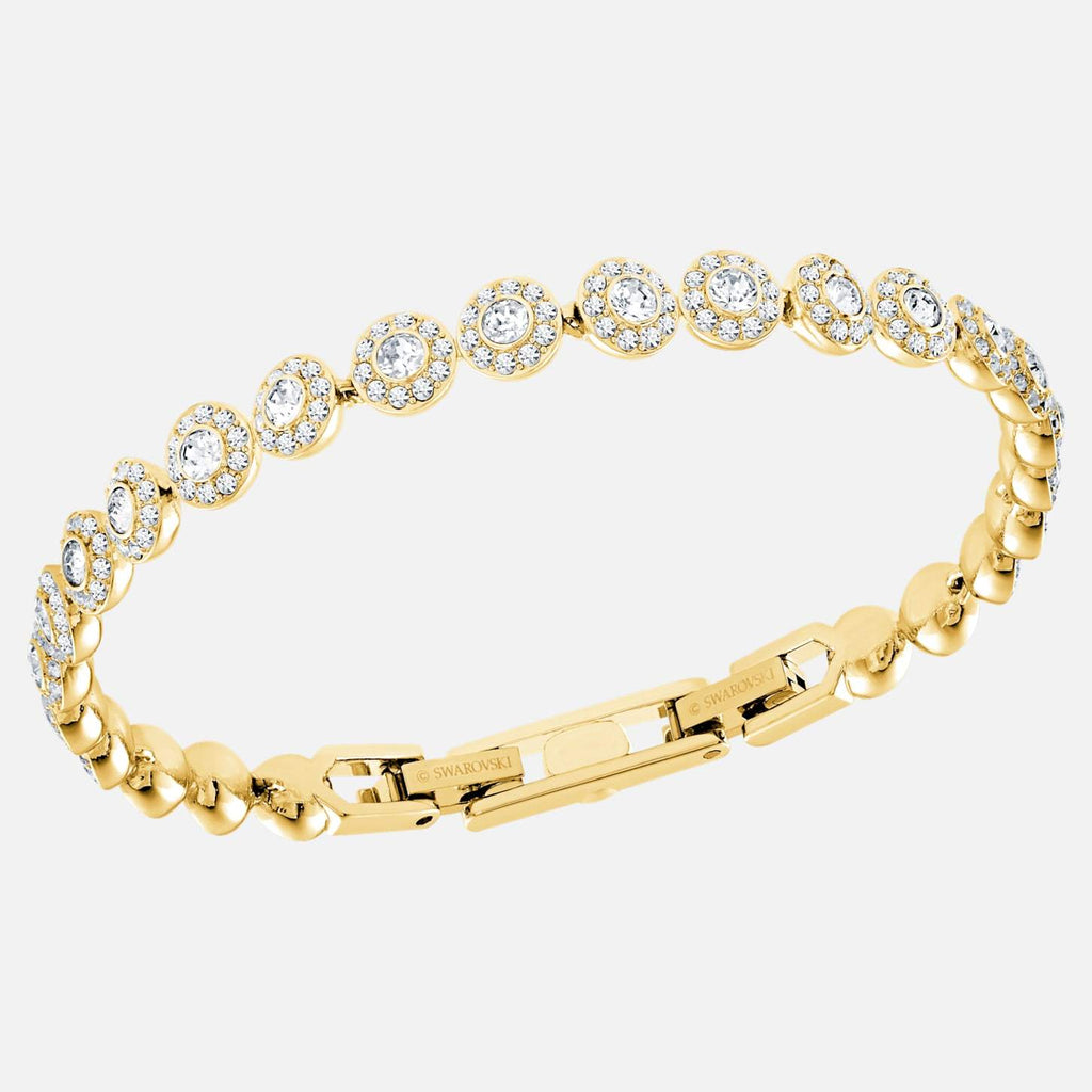Swarovski Jewelry Angelic Bracelet White Gold Tone Plated 5505469