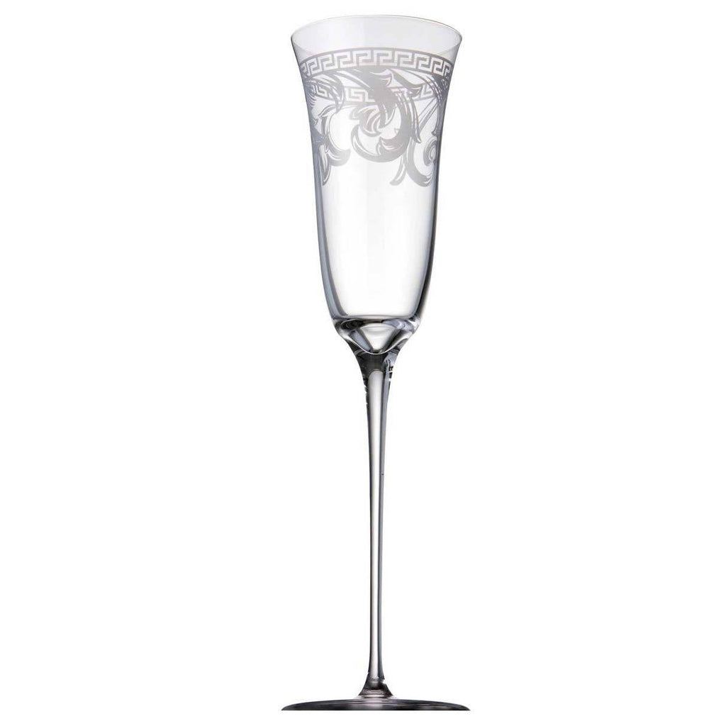 Versace Arabesque Clear Champagne Flute 69955-320319-40820