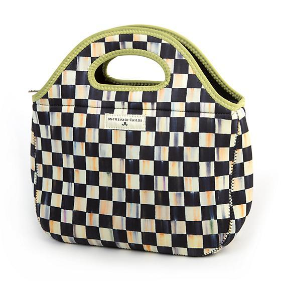 Mackenzie Childs Courtly Check Lunch Tote 71201-040