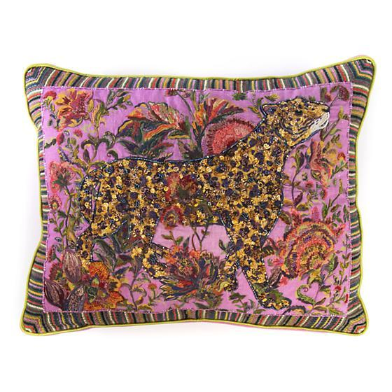 Mackenzie Childs Leopard Lumbar Pillow 75753-027