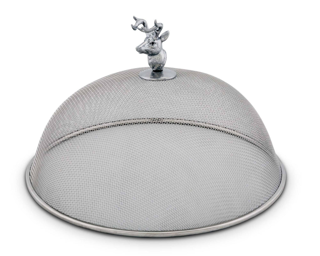 Arthur Court Elk Head Stainless Mesh Picnic Cover 819A11