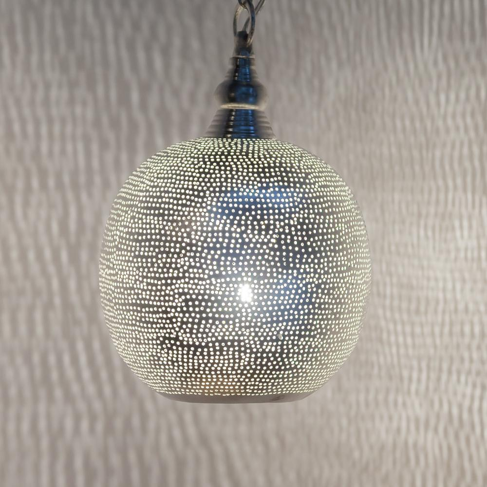Zenza Ball Filisky Small Nickel Pendant Light AM02103S