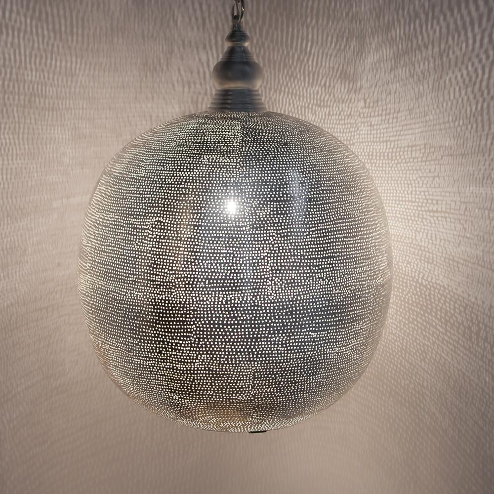 Zenza Ball Filisky XL Nickel Pendant Light AM02105S
