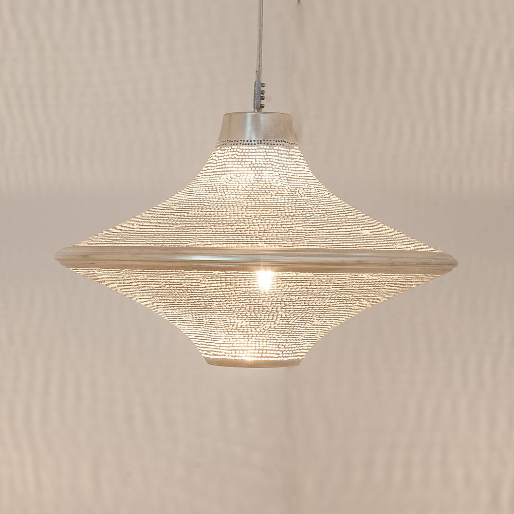 Zenza Batta Filisky Small Nickel Pendant Light BATSSKYHL