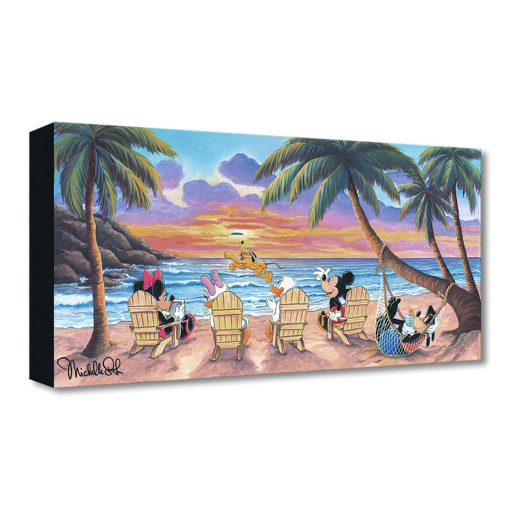 Disney Fine Art - Beautiful Day at the Beach
