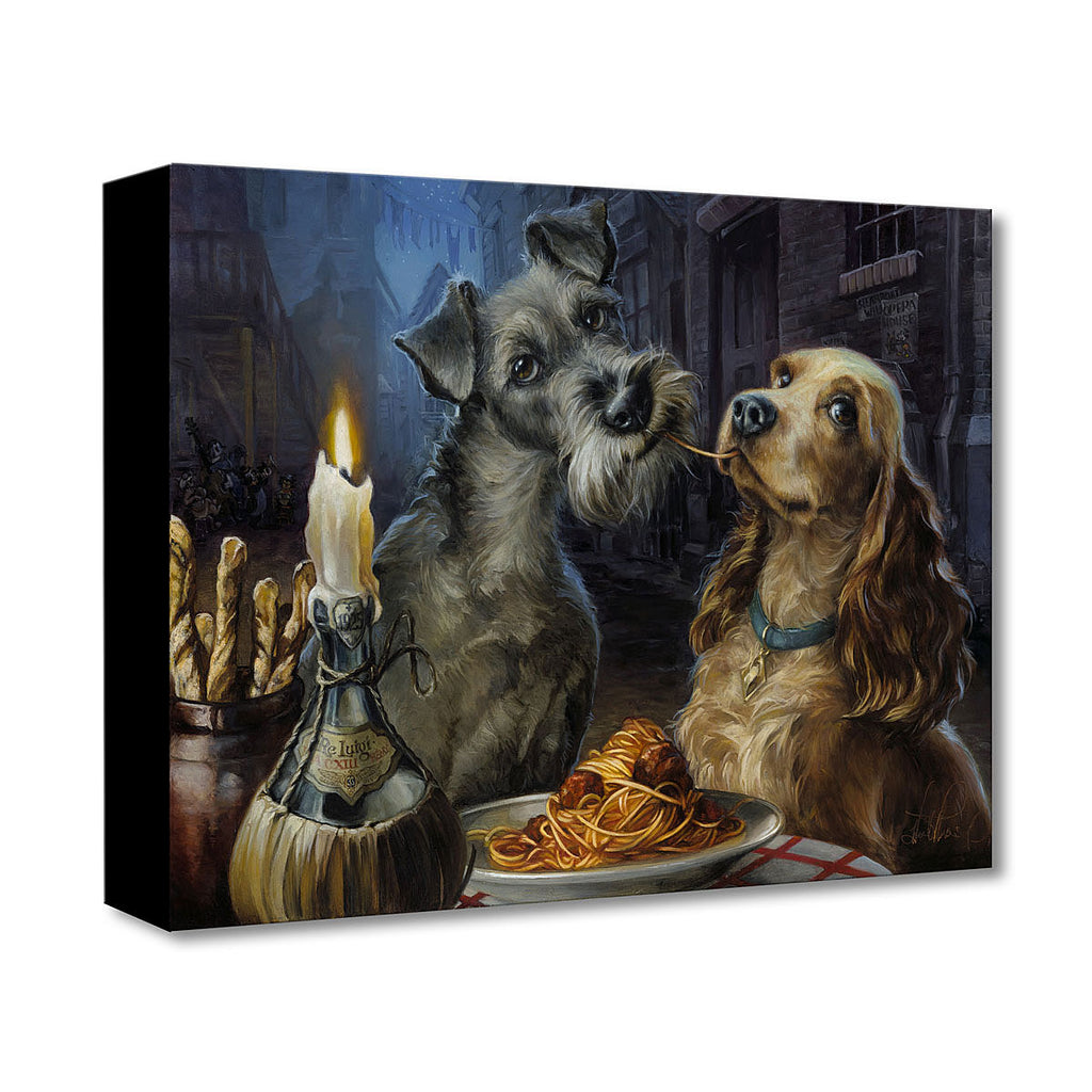 Disney Fine Art - Bella Notte