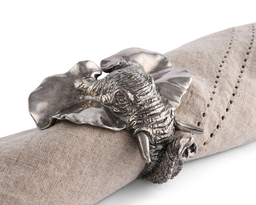 Vagabond House Safari Elephant Napkin Ring C115E-1