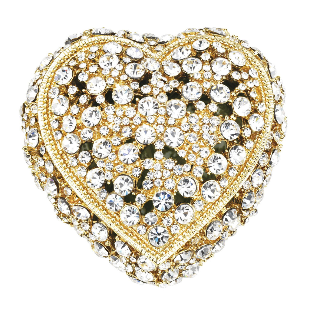 Olivia Riegel Gold Princess Heart Box CB0620