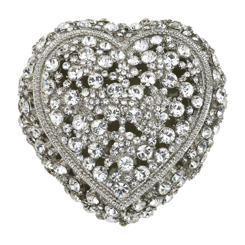 Olivia Riegel Silver Princess Heart Box CB0623