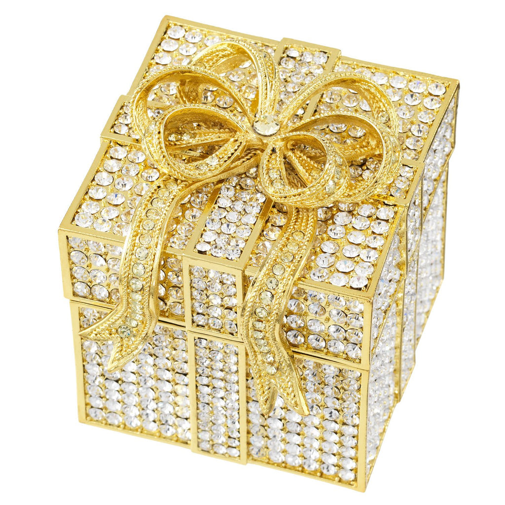 Olivia Riegel Crystal Pave Gift Box CB1220