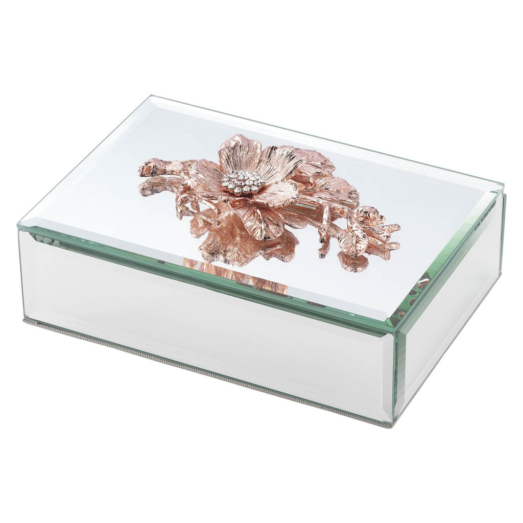 Olivia Riegel Rose Gold Botanica Box CB2027
