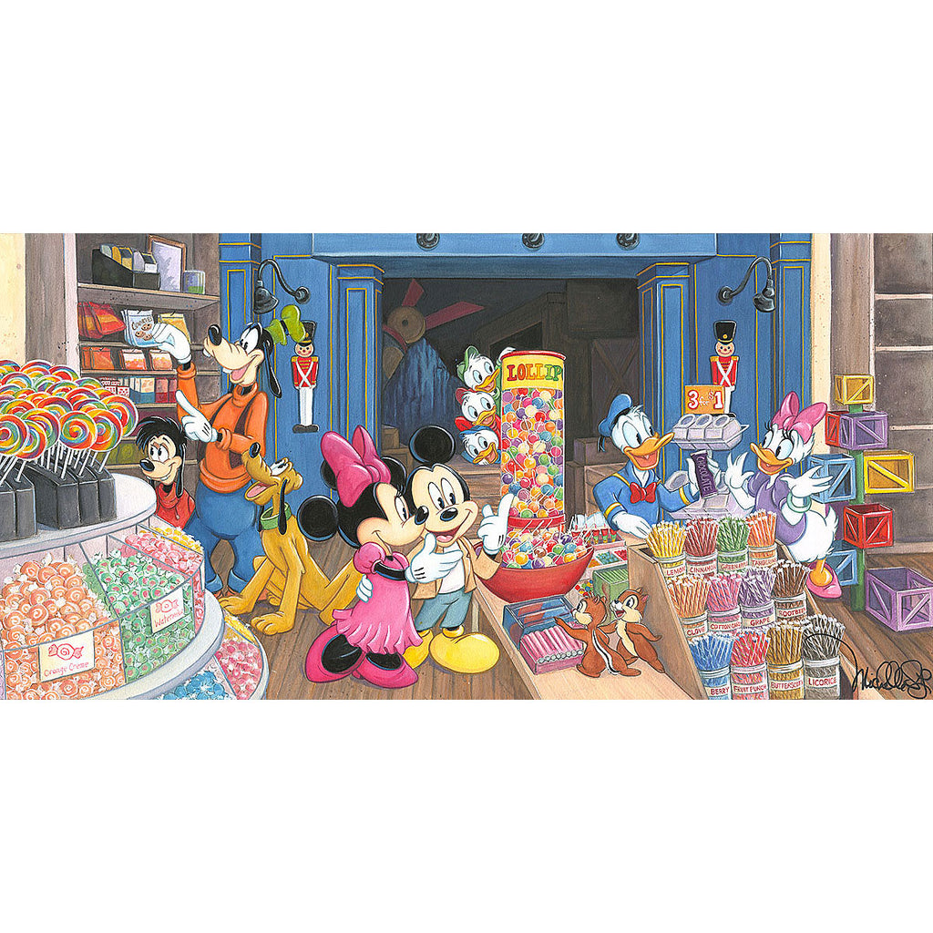 Disney Fine Art - Candy Store