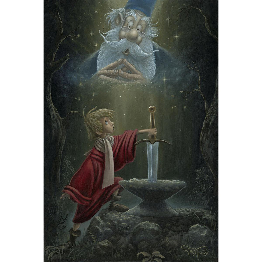 Disney Fine Art - Hail King Arthur
