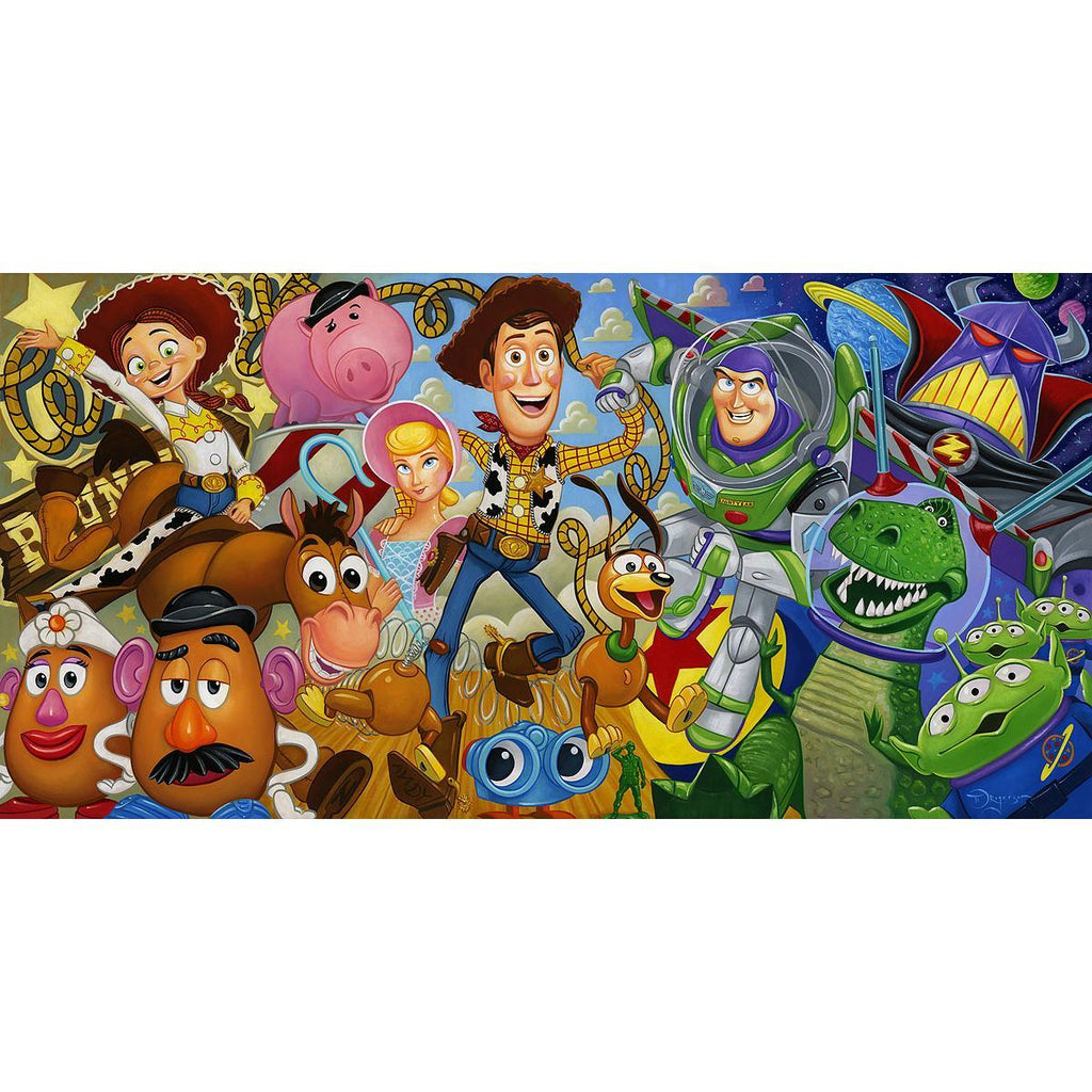 Disney Fine Art - Cast of Toys