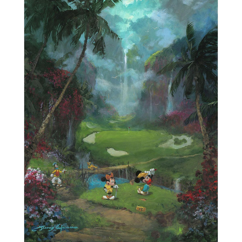 Disney Fine Art - 17th Tee in Paradise