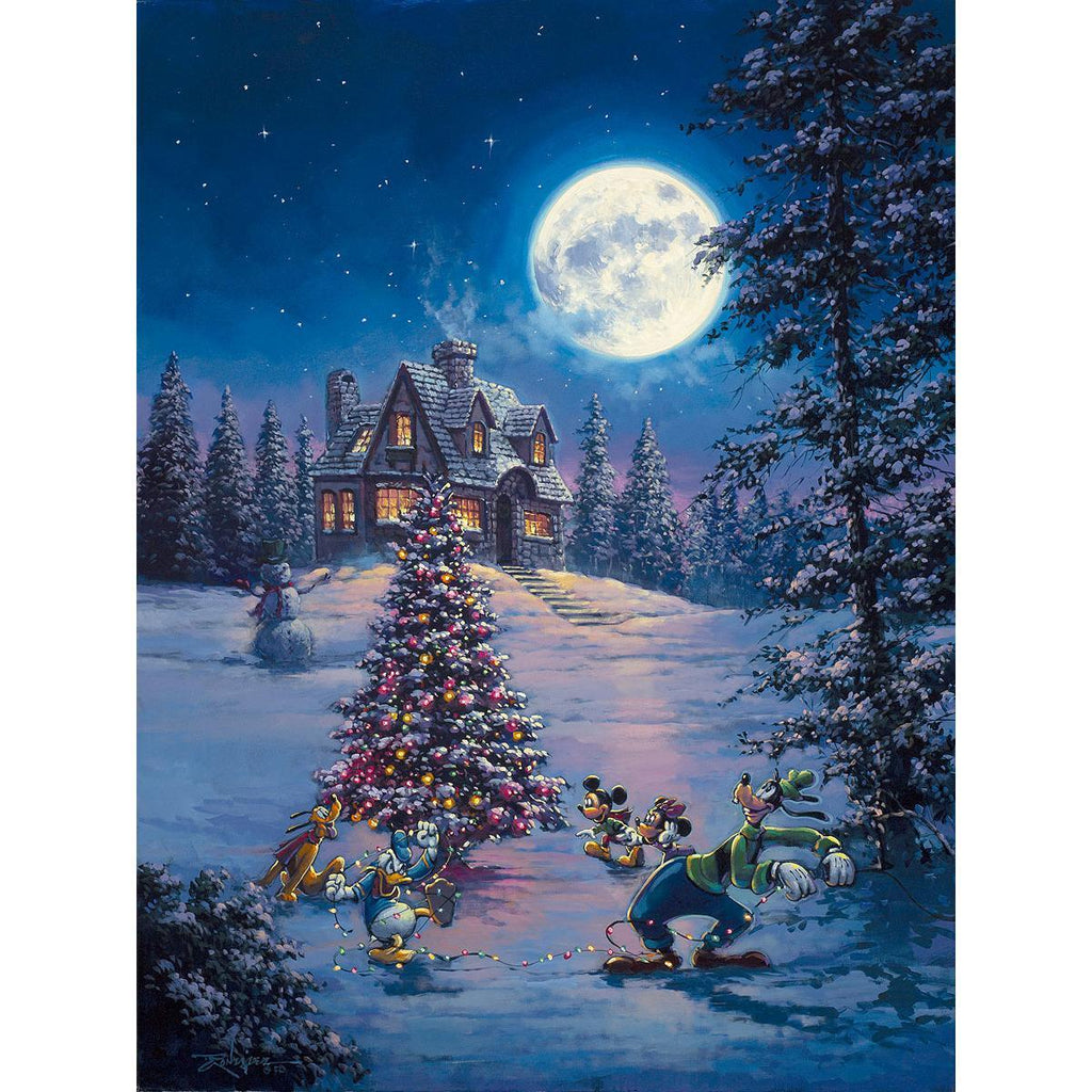 Disney Fine Art - Winter Lights - Large