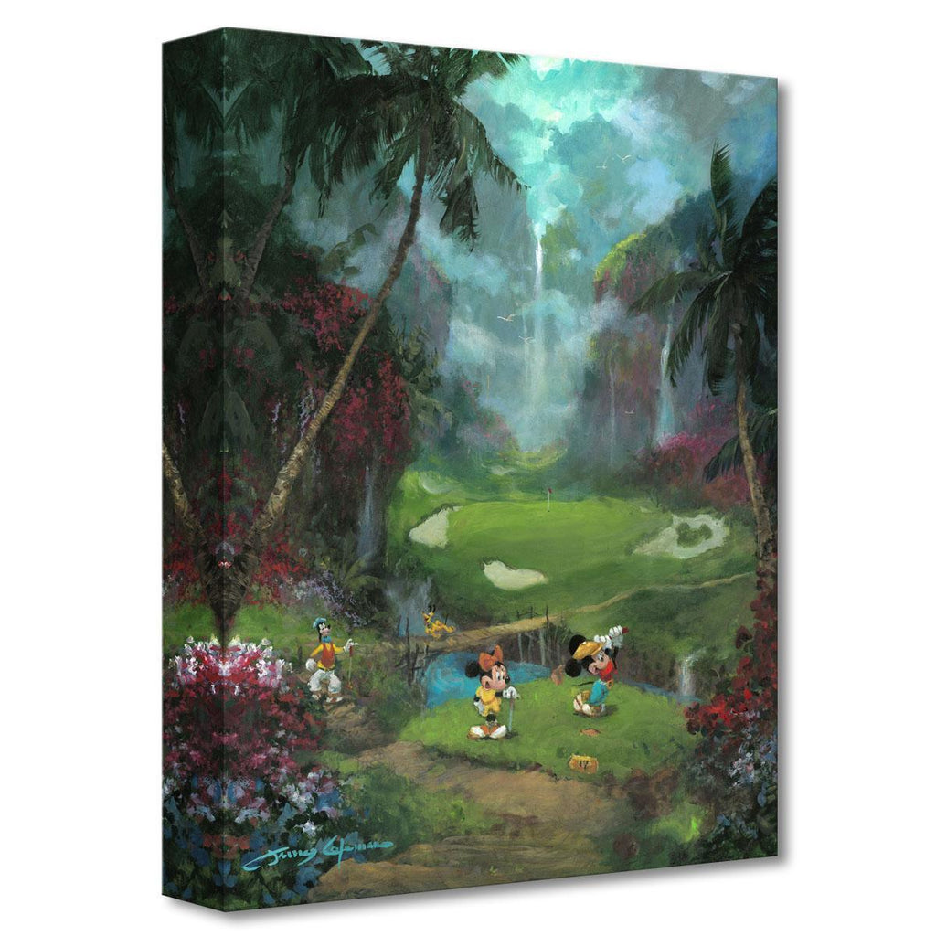 Disney Fine Art - 17th Tee in Paradise Treasures On Canvas