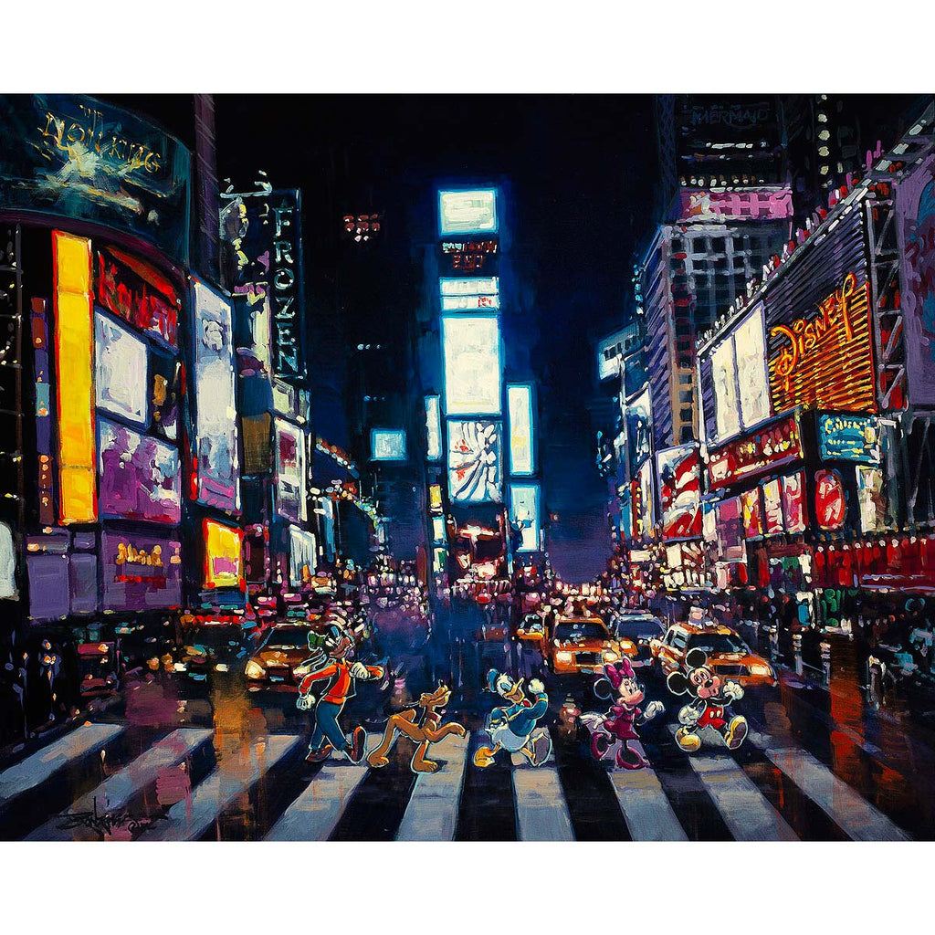 Disney Fine Art - Bright Lights of Manhattan