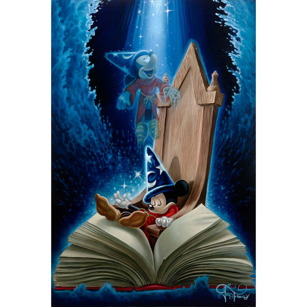 Disney Fine Art - Dreaming of Sorcery