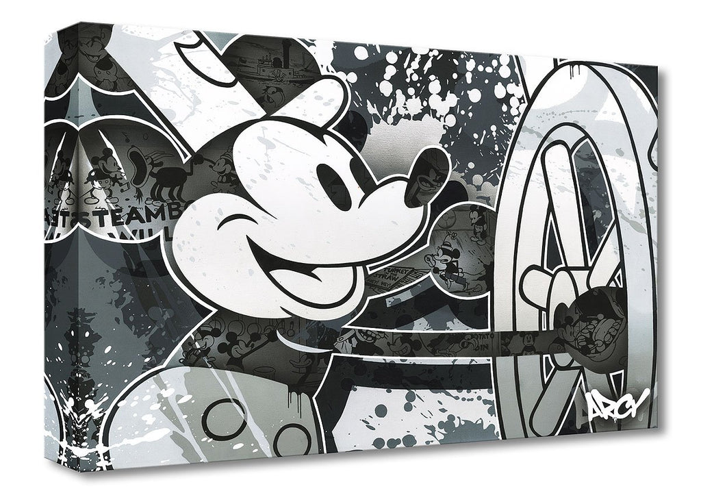 Disney Fine Art - Steamboat Willie