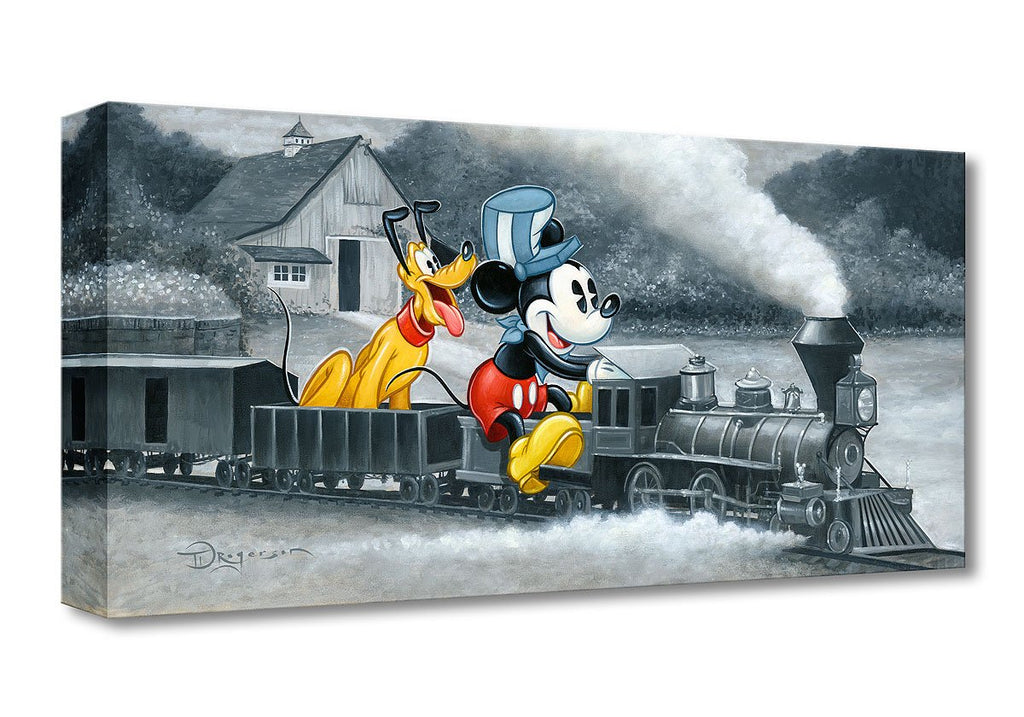 Disney Fine Art - Mickey's Train