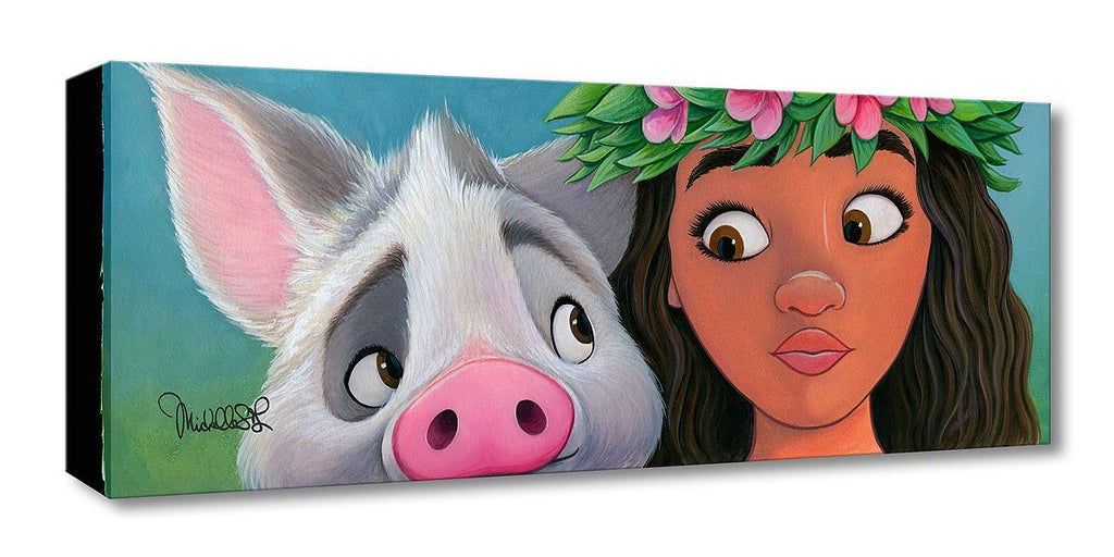 Disney Fine Art - Moana's Sidekick