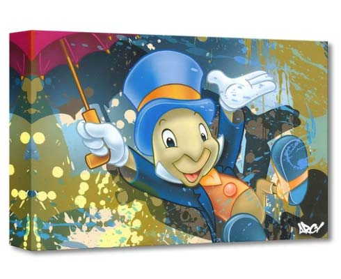 Disney Fine Art - Jiminy Cricket