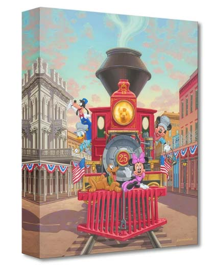 Disney Fine Art - All Aboard Engine 25