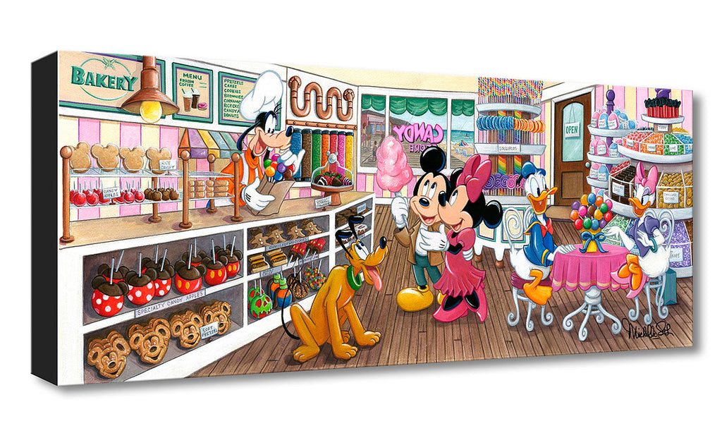 Disney Fine Art - Trip to the Candy Store - Treasures On Canvas